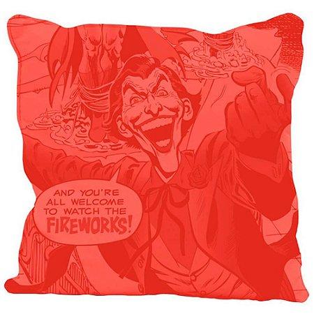 Capa de Almofada Joker Fireworks 45x45cm
