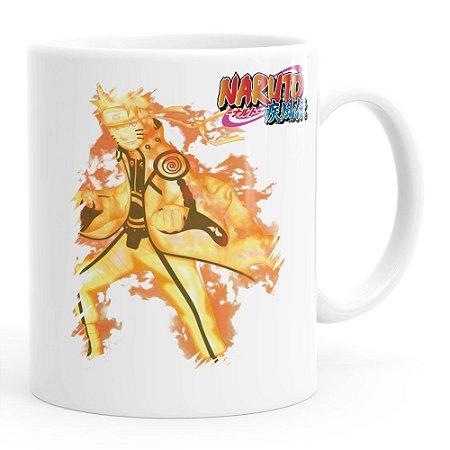 Caneca Naruto Modo Bijuu 02 Branca