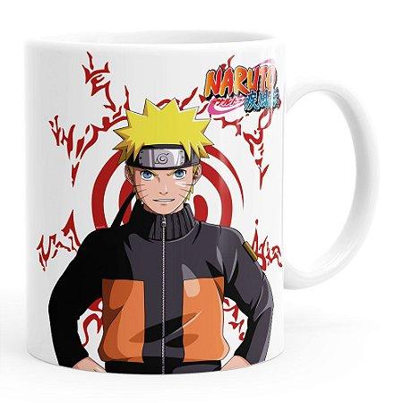Caneca Naruto Shippuden Naruto Branca