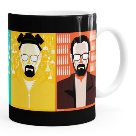 Caneca Breaking Bad v01 Branca