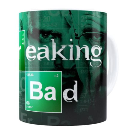 Caneca Breaking Bad v04 Branca