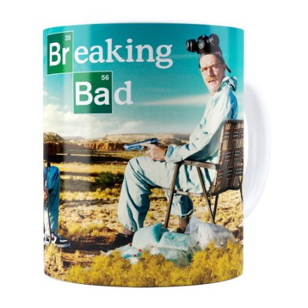 Caneca Breaking Bad v05 Branca