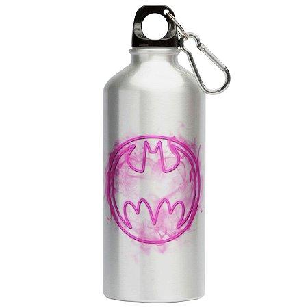 Squeeze Batman Logo Neon 500ml Aluminio