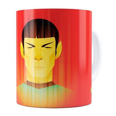 Caneca Star Trek Spock v01 Branca