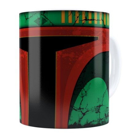 Caneca Star Wars Boba Fett v01 Branca