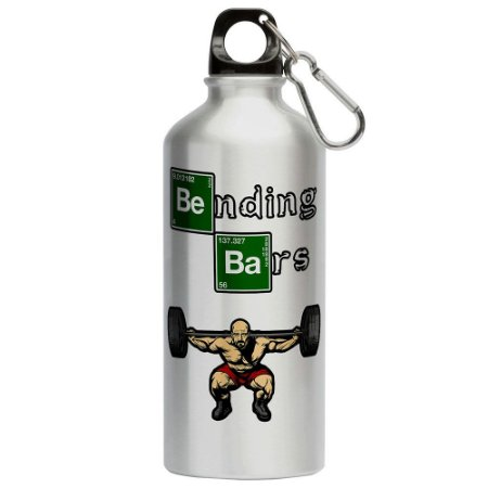 Squeeze Breaking Bad Walter White Academia 500ml Aluminio