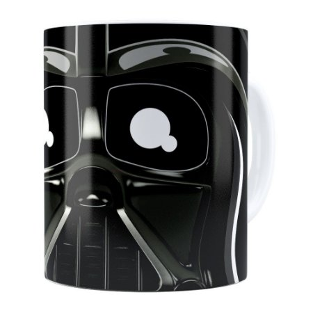 Caneca Star Wars Darth Vader v02 Branca
