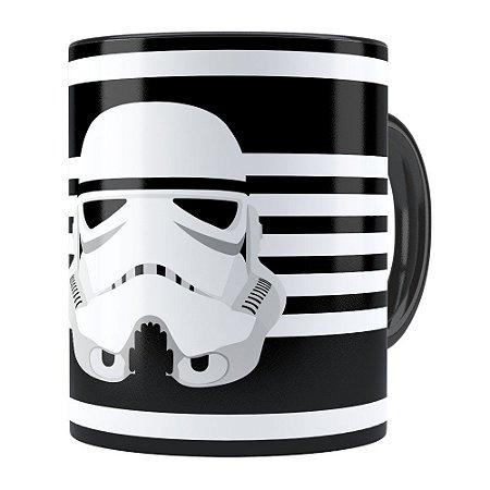 Caneca Star Wars StormTrooper v02 Preta