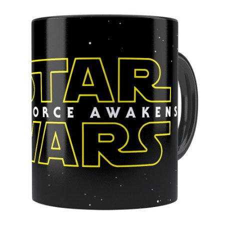 Caneca Star Wars The Force Awakens Preta