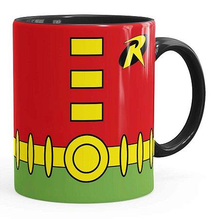 Caneca Robin Batman Série Preta