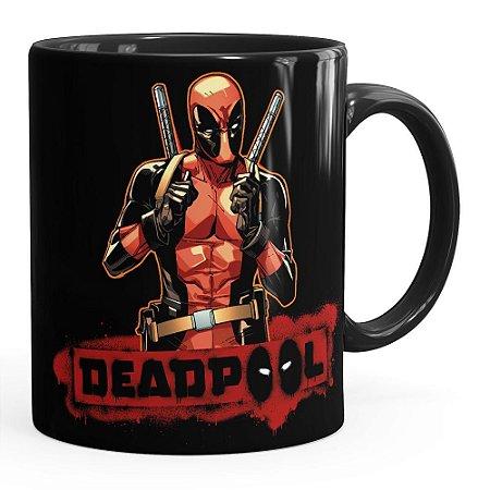 Caneca Deadpool v04 Preta