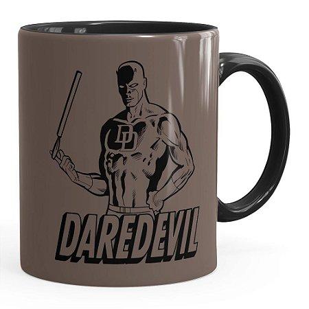 Caneca Demolidor (Daredevil) v01 Preta