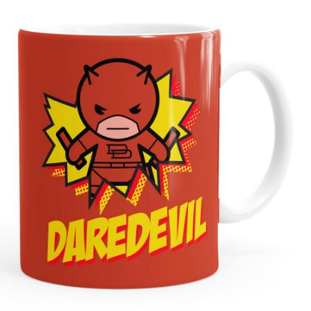 Caneca Demolidor (Daredevil) v02 Branca