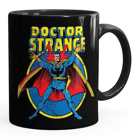Caneca Doutor Estranho (Doctor Strange) v04 Preta