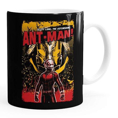 Caneca Homem-Formiga (Ant-Man) v02 Branca