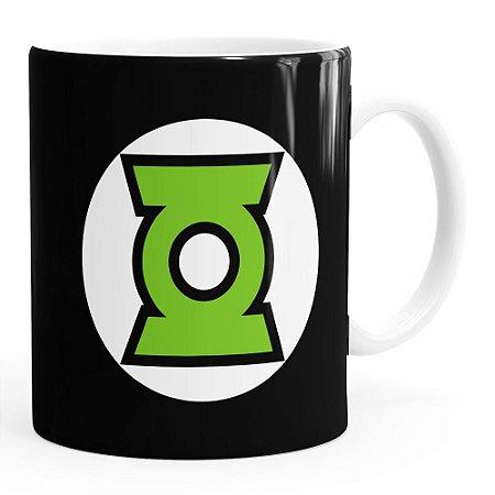 Caneca Lanterna Verde v03 Branca