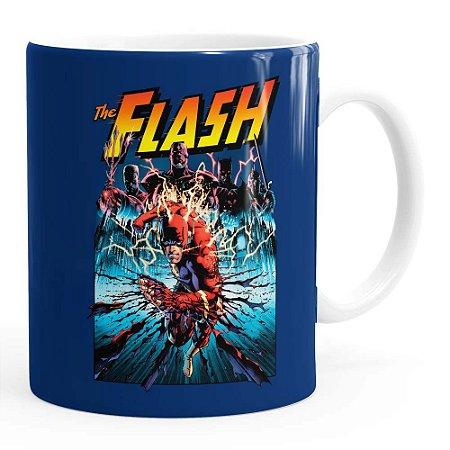 Caneca The Flash Quadrinhos HQ v01 Branca