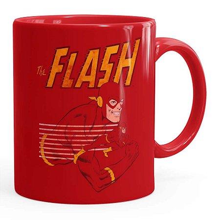 Caneca The Flash v03 Vermelha
