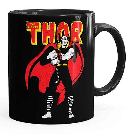 Caneca Thor The Mighty v01 Preta