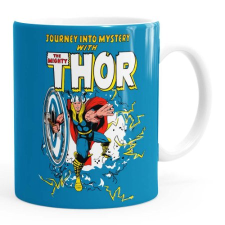 Caneca Thor The Mighty v06 Branca