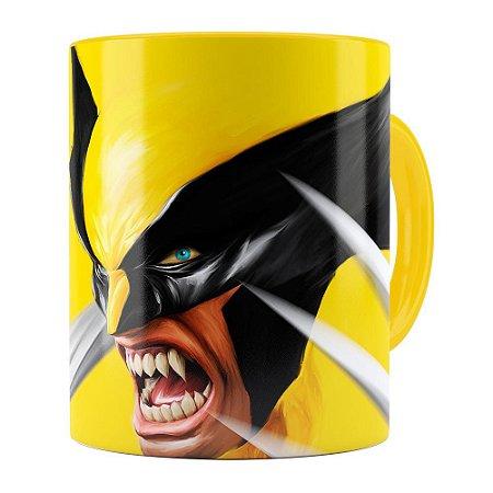 Caneca Wolverine Amarela