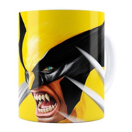 Caneca Wolverine Branca