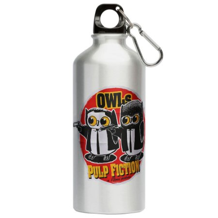 Squeeze Corujas Pulp Fiction 500ml Aluminio