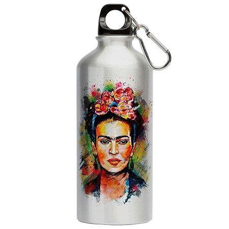 Squeeze Frida Kahlo Arte 500ml Aluminio