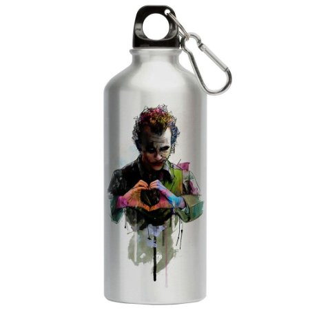 Squeeze Love Coringa Joker Coração 500ml Aluminio