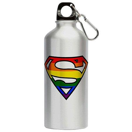 Squeeze Superman LGBTQ 500ml Aluminio