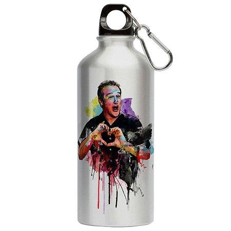 Squeeze Love Robin Williams Coração 500ml Aluminio