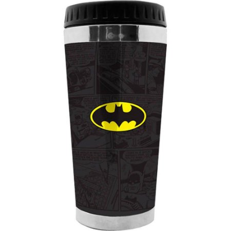 Copo Térmico Batman Logo Quadrinhos 473ml