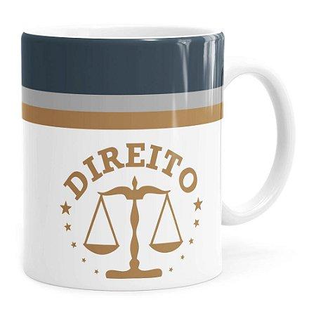Caneca Personalizada Direito v01 Branca