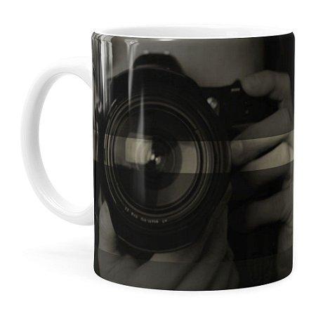 Caneca Personalizada Fotógrafo v01 Branca