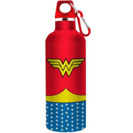 Garrafa Wonder Woman Body 750ml Aluminio