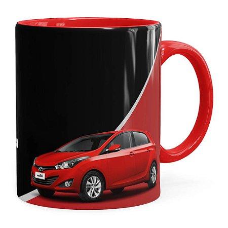 Caneca Personalizada Vendedor de Carros Vermelha