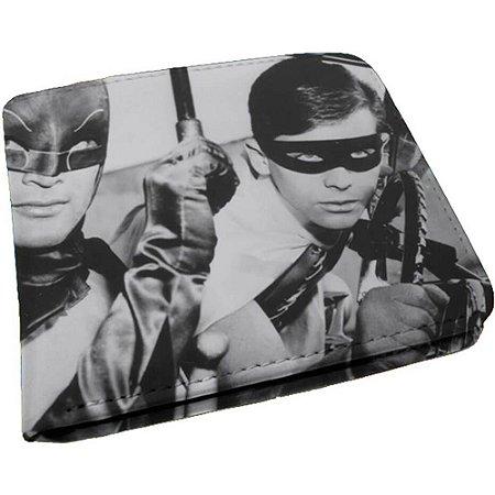 Carteira Batman And Robin Série Preto e Branco