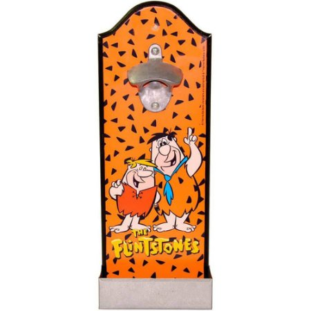 Abridor de Garrafas Flintstones Fred and Barney Madeira