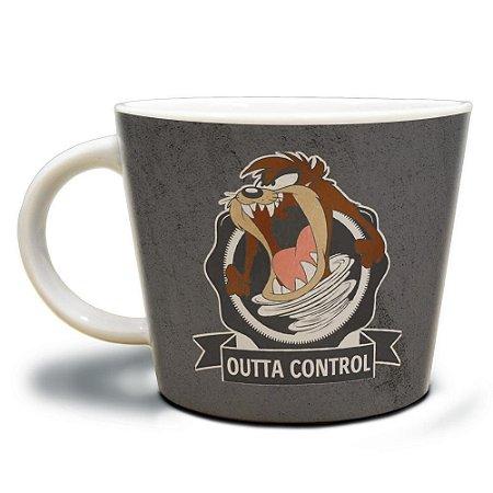Caneca Taz Outta Control 320ml Porcelana