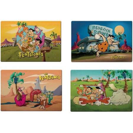 Jogo Americano Flintstones All Having Fun 4 Peças