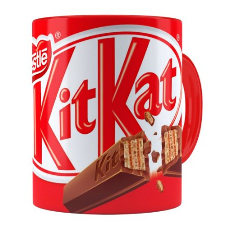 Caneca Chocolate KitKat Vermelha