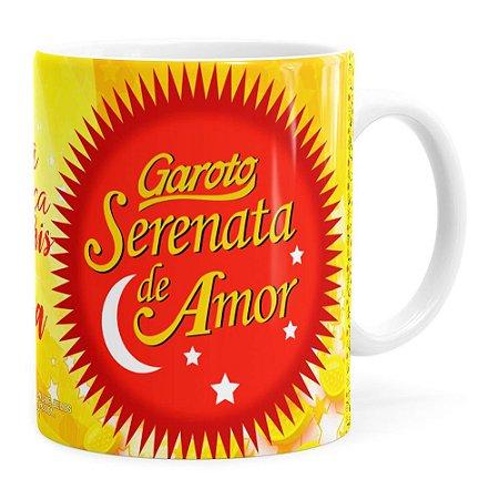 Caneca Chocolate Serenata de Amor v03 Branca