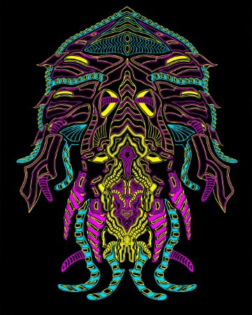 Bandeira decorativa Jellyfish