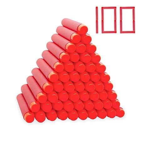 Dardos Para Lançador De Brinquedo Tipo Nerf Com 100 Unidades