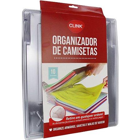 ORGANIZADOR DE CAMISETAS PLASTICO - CLINK