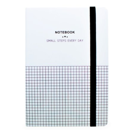 CADERNO SMALL STEPS QUADRICULADO - WORLD CLASSIC