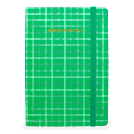 CADERNO DREAMS COME TRUE VERDE