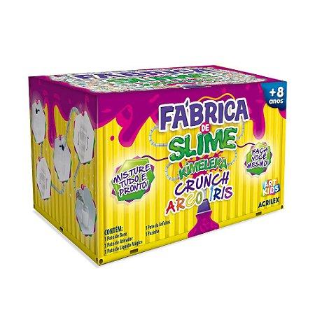 FÁBRICA DE SLIME KIMELEKA CRUNCH ARCO IRIS