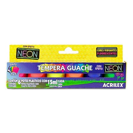 TEMPERA GUACHE NEON ACRILEX