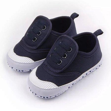 2bf9048a7 Tênis Velcro Marinho - Pipoquinha Baby & Kids